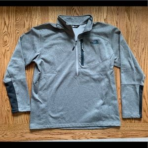 The North Face Men's 1/4 zip active fleece - XL